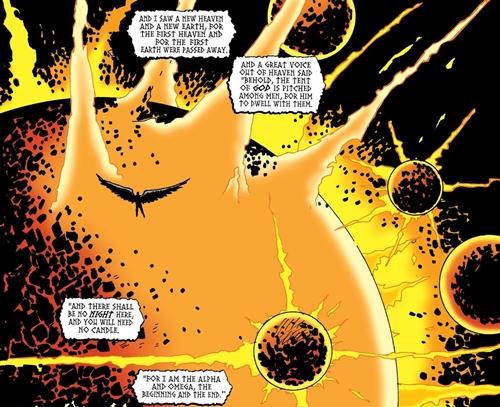 lucifer puede crear universos con su poder