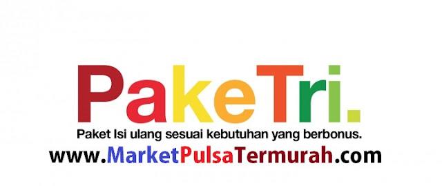 Three Isi Ulang AON Murah Market Pulsa, Kuota Besar dan Bonus Pulsa