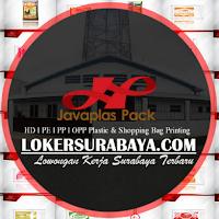 Lowongan Kerja Surabaya di CV. Javaplas Pack Terbaru November 2019