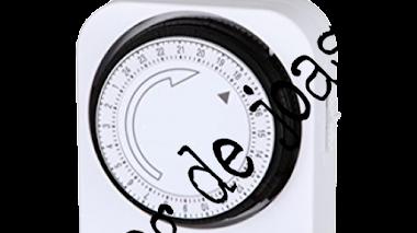 Como programar un temporizador analógico de pestañas