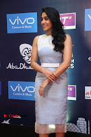 Actress Regina Candra Stills in Beautiful Sleeveless Blue Short Dress at SIIMA Short Film Awards 2017 .COM 0031.JPG
