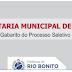 Processo Seletivo da Secretaria de Saúde - GABARITO - Rio Bonito / RJ