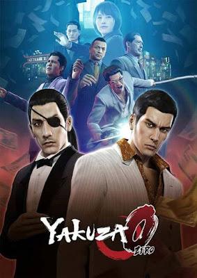 Capa do Yakuza 0