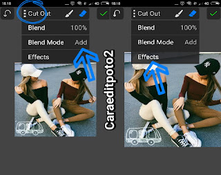 Cara edit foto kekinian banget