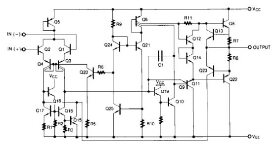 LM348 Quad Op Amp Circuit Diagram and Datasheet