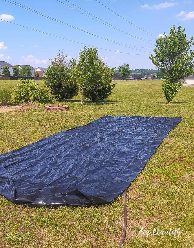 plastic sheeting