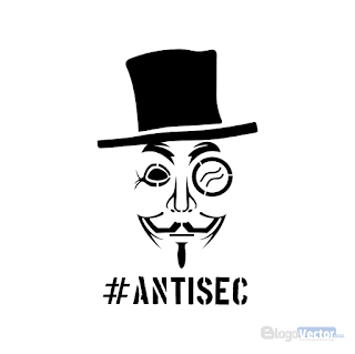 AntiSec Logo vector (.cdr)