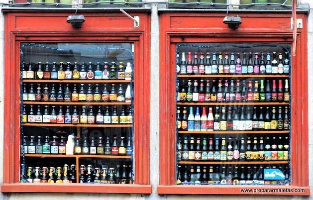 cervezas en Bélgica