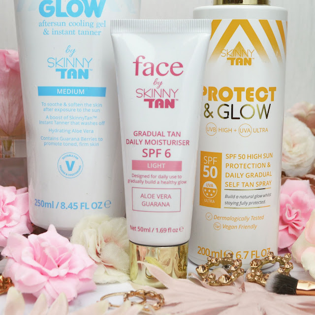 Getting Ready For Summer With Skinny Tan* | SPF, Aftersun, Moisturiser Review, Lovelaughslipstick Blog