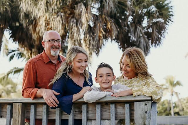 fort myers beach family