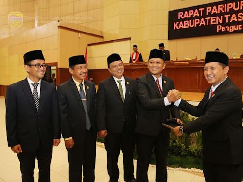 Pimpinan DPRD Kabupaten Tasikmalaya 2019-2024