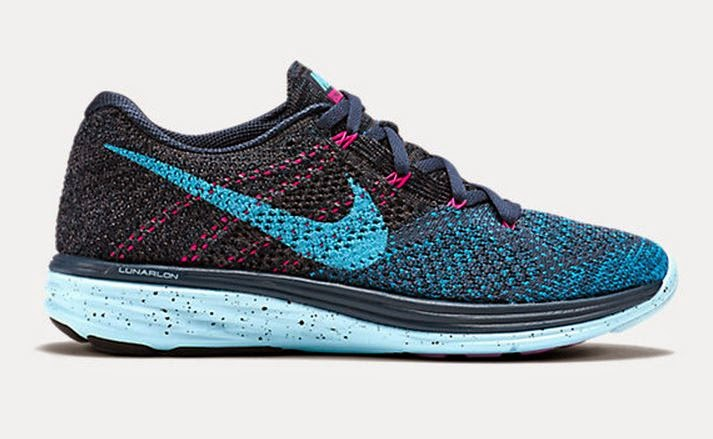 e74637cb045dd THE SNEAKER ADDICT  Nike Flyknit Lunar 3 Shoes In 6 New Colorways ...