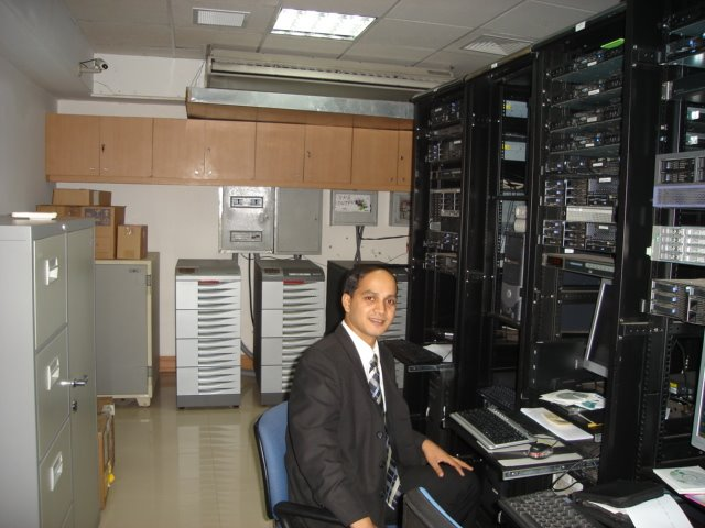 It was my first Data center in 2007.
