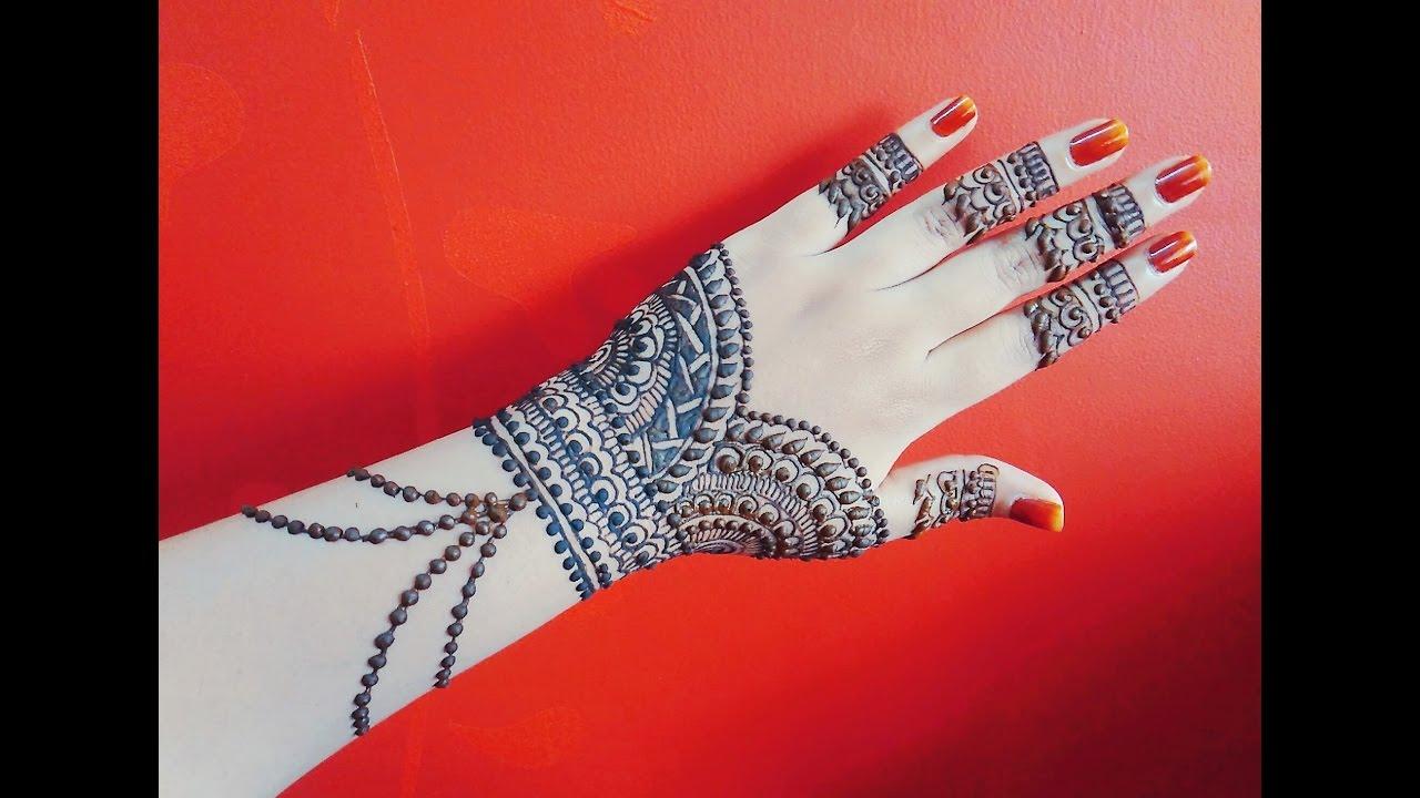 Elegant Bridal Mehndi Designs : Top elegant mehndi designs wedding bels bridal