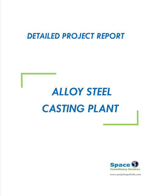 Project Report on Alloy Steel Casting Plant