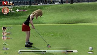 みんなのゴルフプレイ画像1