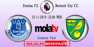 Prediksi Everton vs Norwich City — 23 November 2019