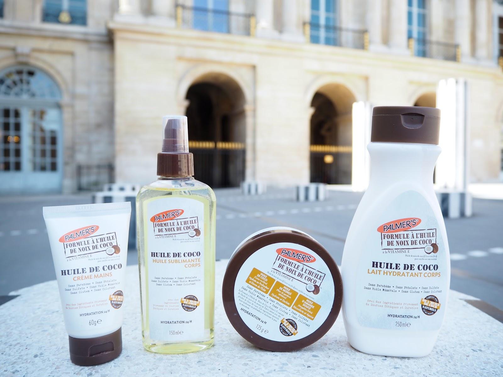 gamme huile de coco palmers