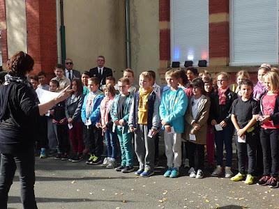 La Marseillaise chantée par les enfants de l'école Jean Macé