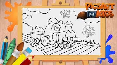 PicsArt Kids - Aplikasi Menggambar Untuk Anak