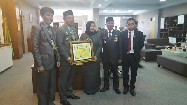 Kabupaten Sidrap Terima Penghargaan Provinsi Sebagai Pelopor PNPGBM