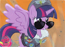 MLP Princess Twilight Sparkle Series 3 Trading Card