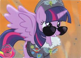 My Little Pony Princess Twilight Sparkle Series 3 Trading Card