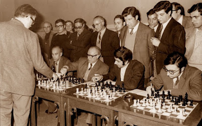 Simultáneas de ajedrez de Bent Larsen en 1971