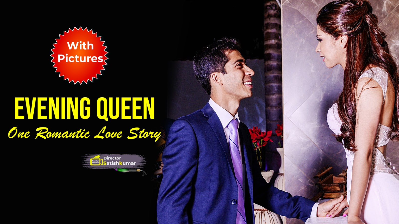 Evening Queen - One Romantic Love Story - Free E-Book Love Stories in English and in Hindi