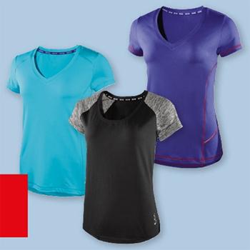 Camisetas técnicas deportivas para mujer Crivit Lidl