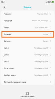 Cara Mengubah Browser Default Xiomi