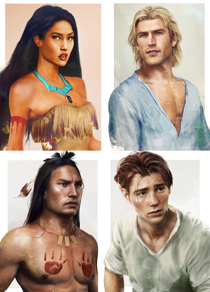 real life disney character Pocahontas персонажи Дисней в реальной жизни Покахонтас