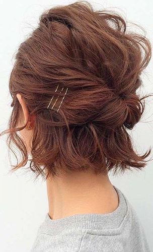 18 CUTE EASY HAIRSTYLES FOR SHORT HAIR TO TRY THIS SEASON