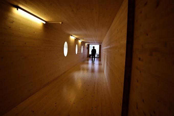Wooden Entrance