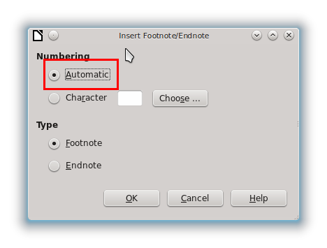 Ubuntu Buzz !: LibreOffice Writer for Beginner: Footnote