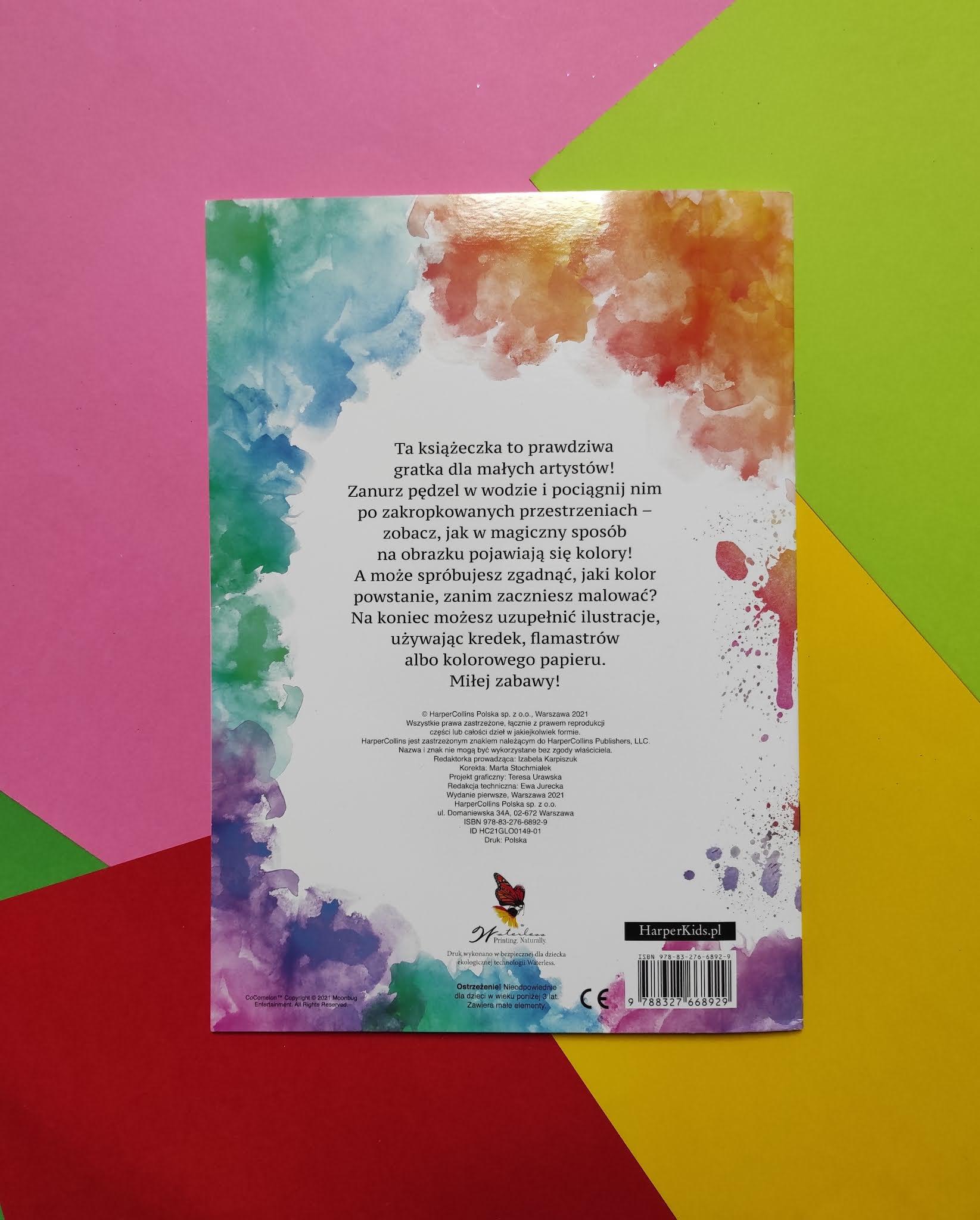 Wodne kolorowanie : Cocomelon, Cleo & Cuquin - książeczki do malowania