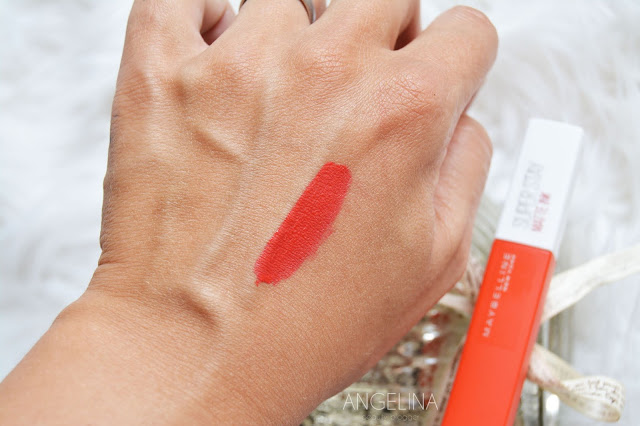MAYBELLINE SUPER STAY MATTE INK 25 HEROINE