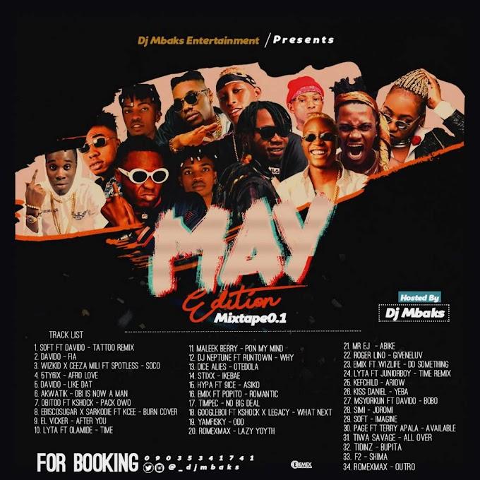 [Mixtape] DJ Mbaks - May Edition Mix