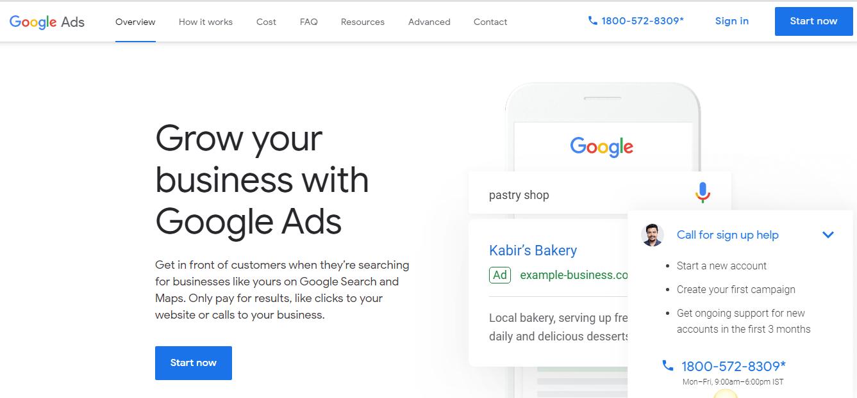 Promociones de Google