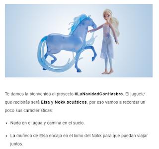 Probando... Elsa y Nokk Acuáticos de Hasbro