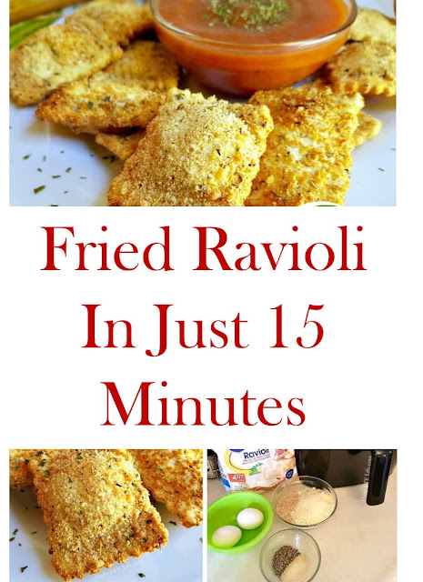 Fried Ravioli In Just 15 Minutes #FriedRavioliInJust15Minutes