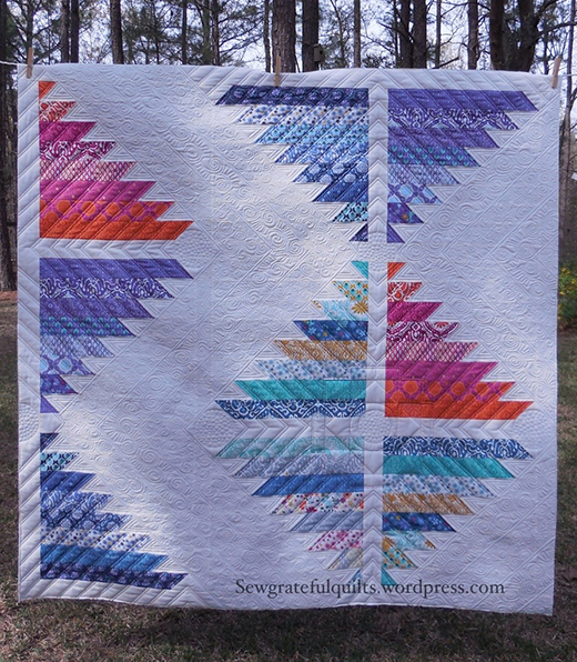 Lost City – Cuzco Quilt Free Pattern designed by Kate Spain for Moda Fabrics