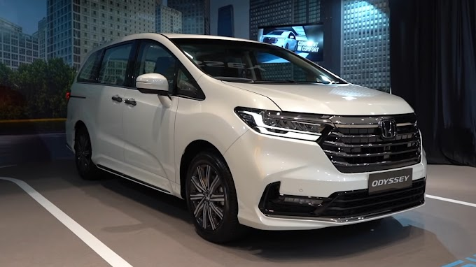 Honda Odyssey 2021 | Fitur Berlimpah dan Desain Keren !