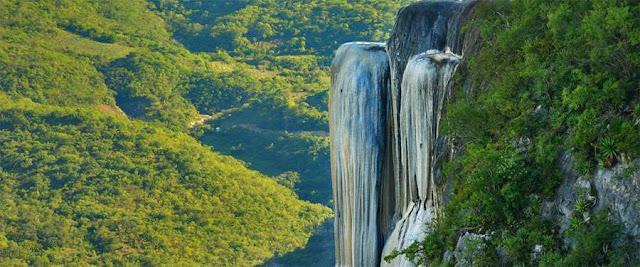 Cascadas petrificadas