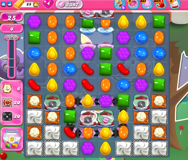 Candy Crush Saga level 2347