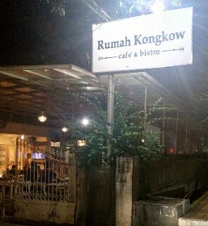 Tempat makan enak rumah kongkow