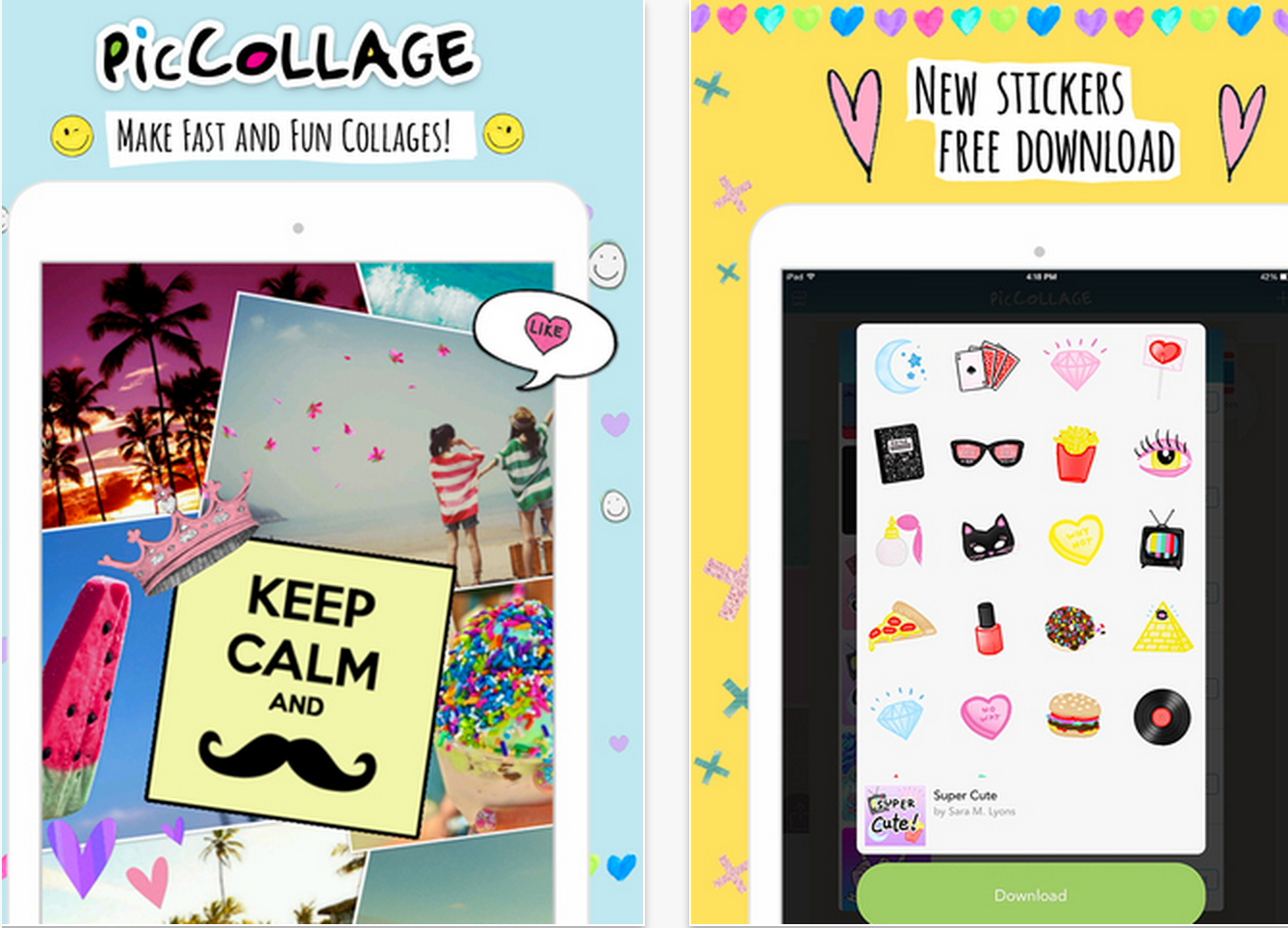 A Great Kids App For Creating Beautiful Picture Collages