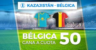 Paston Megacuota Eurocopa Bélgica gana Kazajistan 13-10-2019