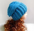 Knitting patterns slouchy hat