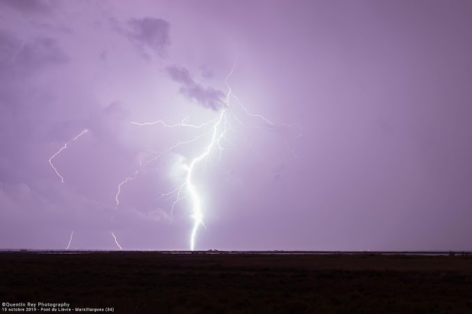 Bilan du passage pluvio-orageux